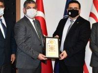 DAÜ Rektörü Prof. Dr. Aykut Hocanın ve LAÜ Rektörü Prof. Dr. Mehmet Ali Yükselen Bir araya Geldi