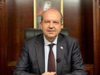 Cumhurbaşkanı Ersin Tatar, Derviş Zaim'i Tebrik Etti