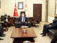 Başbakan Saner, DAÜ – Per Sen Yönetim Kurulunu Kabul Etti
