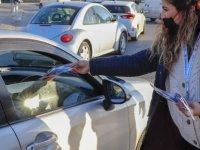 Gazimağusa Belediyesi Vatandaşlara Maske Dağıttı