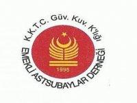KKTC Güvenlik Kuvvetleri Komutanlığı Emekli Astsubayları Derneğinden Yeni Yıl Mesajı