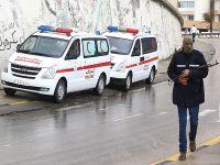 Libya Bingazi'de havan topu sağlık merkezine düştü