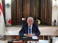 Özçınar, 29 Ekim Cumhuriyet Bayramı dolayısıyla mesaj yayımladı