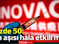 Ülkemizde de yapılan Sinovac aşısının etkinliği %50:hâlâ etkili mi?