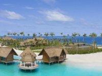 Maldivler'in en geniş özel adası hizmete açıldı: Geceliği 600 bin liraya misafirlerini bekliyor!