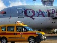 İngiltere-Katar seferini yapan uçak Şanlıurfa'ya acil iniş yaptı