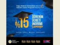 DAÜ Mezunlarına Yüksek Lisans Program Kayıtlarında %15 İndirim İmkanı