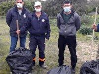 Alevkayası ve Onur Camping sahilinde temizlik kampanyası gerçekleştirildi...