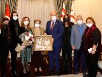 Cumhurbaşkanı Tatar, Kamuran Celal Tarhan'ı kabul etti