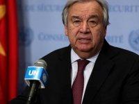 Guterres, Kıbrıs Konusunda İlgili Tarafları En Yakın Tarihte Toplantıya Davet Edeceğini Açıkladı