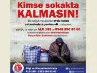 Girne Belediyesi Sokakta Yaşayanlara Geçici Bir Süre Kalacak Yer Sağlayacak