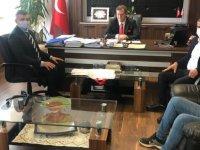 Alayköy Organize Sanayi Bölgesi Sanayicileri Ve İşadamları Derneği Bakan Arıklı Tarafından Kabul Edildi