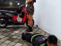 Maske takmayan turistlere 'şınav çekme' cezası veriliyor