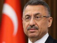 TC Cumhurbaşkanı Yardımcısı Oktay'dan Geçmiş Olsun Mesajı
