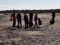 Glapsides Sulak Alanı çevresi ve Glapsides Halk Plajı'ı temizlendi...