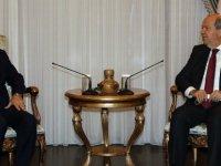 Cumhurbaşkanı Tatar, Milli Dayanışma Derneği Yönetim Kurulu Başkanı Remzi Alemdar'ı kabul etti