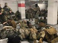 ABD Başkanı Biden, otoparkta uyumak zorunda kalan Ulusal Muhafızlar için özür diledi