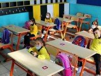 Okullarda Seyreltilmiş Yüz Yüze Eğitim Başladı