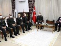 Cumhuriyet Meclisi Başkanı Sennaroğlu, Komutanları Kabul Etti