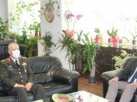 Arıklı Tümgeneral Öztürk'ü Kabul Etti
