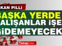 Pilli:Girne ve Lefkoşa'da yaşayıp başka yerde çalışanlar işe gidemeyecek