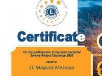 Mağusa Mesarya Lions Kulübü, Avrupa Lions Çevre Fonu Aldı