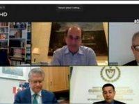 """""""Kıbrıs'ın Geleceği"""" düzenlenen çevrimiçi seminerde tartışıldı"""