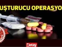 Uyuşturucu operasyonunda yüklü miktarda uyuşturucu ele geçirildi!