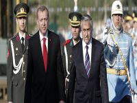 Akıncı, Erdoğan ile görüşüyor