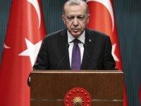 """Erdoğan:""""Kuzey Kıbrıs'ın haklarını kimseye yedirtmeyiz, yeri gelirse müdahale ederiz"""""""