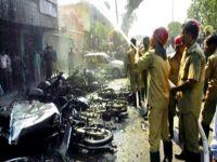Havai fişek fabrikasında patlama: 11 ölü