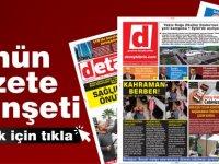 Detay Gazetesi Bugün Ne Manşet Attı? ( 1 Mart Pazartesi)