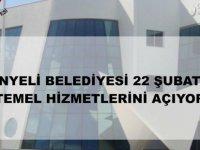 Gönyeli Belediyesi 22 Şubat'ta hizmet binasının kapılarını yeniden açıyor