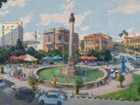 """Alexey Utkin'in """"Kıbrıs Manzarası ve Mutelifleri"""" ve Asgat Dinikeyev'in """"Zaman Şiiri"""" Sergilerinin Girne Üniversitesi Güzel Sanatlar Galerisinde Yapılacak Açılışları, 1 Mart Pazartesi Gününe Alındı."""