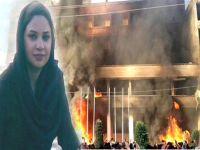 İranlı Kürtler tecavüze karşı ayaklandı, otel yaktı