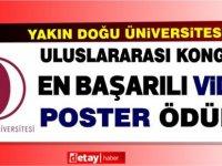 Yakın Doğu Üniversitesi, Uluslararası Veterinerlik Kogresinde En Başarılı Video Poster Ödülü Aldı.