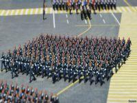 Rusya tarihinin en büyük askeri töreni (fotogaleri)