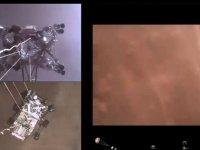 NASA, Mars'a gönderdiği keşif aracı Perseverance'ın iniş görüntülerini paylaştı (VİDEO)