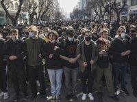 Yunanistan'da 'kampüs polisi' yasası onaylandı, öğrenci protestoları sürüyor
