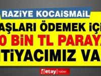 """KHYD Başkanı Kocaismail: """"Dernek Maaşları Ödemek İçin 230 Bin TL'ye İhtiyaç Duyuyor"""""""