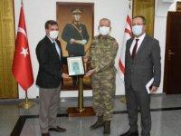 Arıklı, Güvenlik Kuvvetleri Komutanlığı'nı Ziyaret Etti