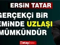 Cumhurbaşkanı Tatar:Gerçekçi bir zeminde uzlaşı mümkündür