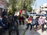 Tarım Ve Doğal Kaynakları Bakanı Çavuşoğlu Seracılarla Görüştü