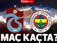 Trabzonspor - Fenerbahçe maçı saat kaçta, hangi kanalda?