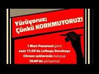 Basın örgütleri basın çalışanlarına destek olmak için bugün Lefkoşa'da yürüyüş yapacak