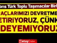 Kıbrıs Türk Toplu Taşımacılar Birliği, yarın Lefkoşa'da araçlı eylem yapacak