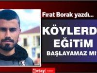 Fırat Borak yazdı...
