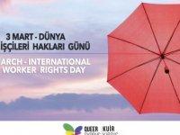 Kuir Kıbrıs Derneği: `Uluslararası Seks İşçileri Hakları Günü' Kutlu Olsun