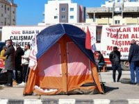 Taşımacıların Eylemi Başbakanlık Önünde Sürüyor