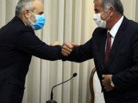 Meclis Başkanı Sennaroğlu TBMM Dışişleri Komisyonu Başkanı Kılıç Ve Beraberindeki Heyeti Kabul Etti